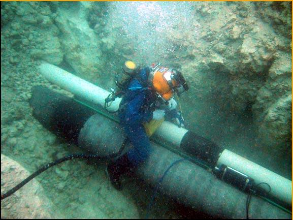 Offshore Diver Pictures : Underwater welding oil rig jobs wet welders positions